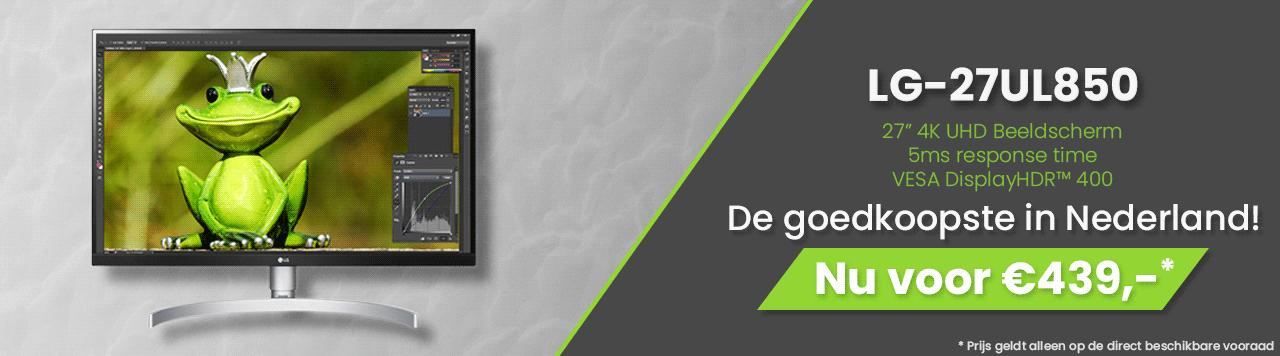 LG-27UL850-W, Goedkoopste in Nederland, 439 per stuk