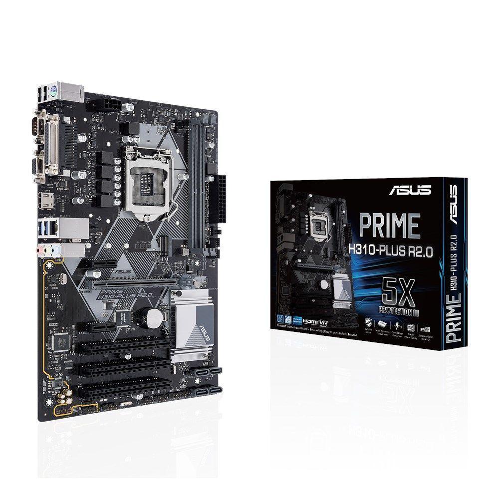 ASUS H310-PLUS R2.0 Intel® H310 LGA 1151 (Socket H4) ATX