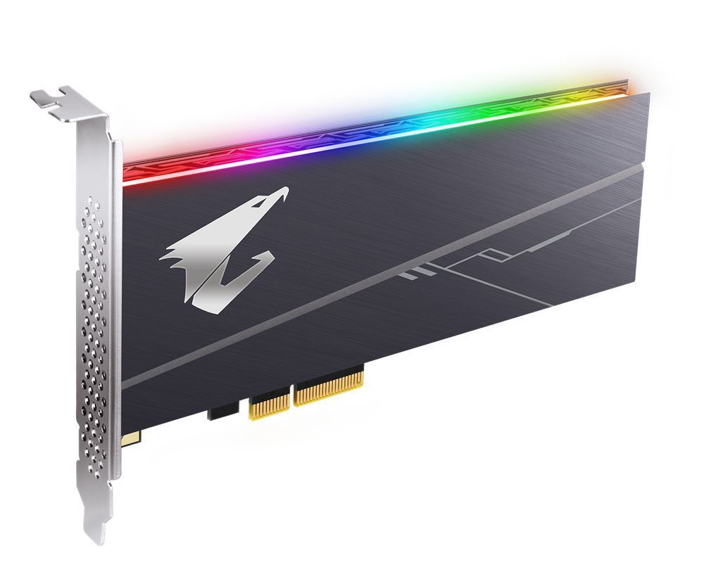 Gigabyte AORUS Full-Height/Half-Length (FH/HL) 1000 GB PCI Express 3.0 3D TLC NVMe