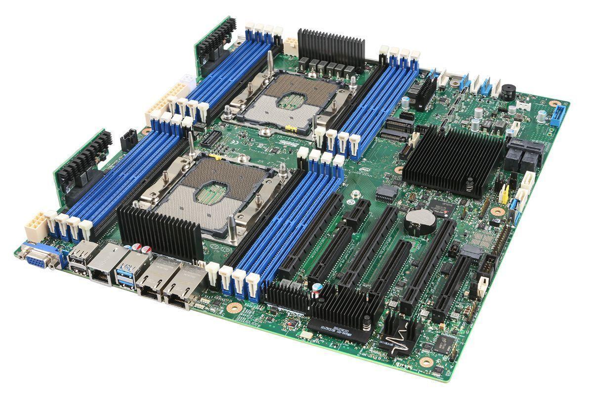 Intel S2600STBR moederbord Intel® C624 SSI EEB