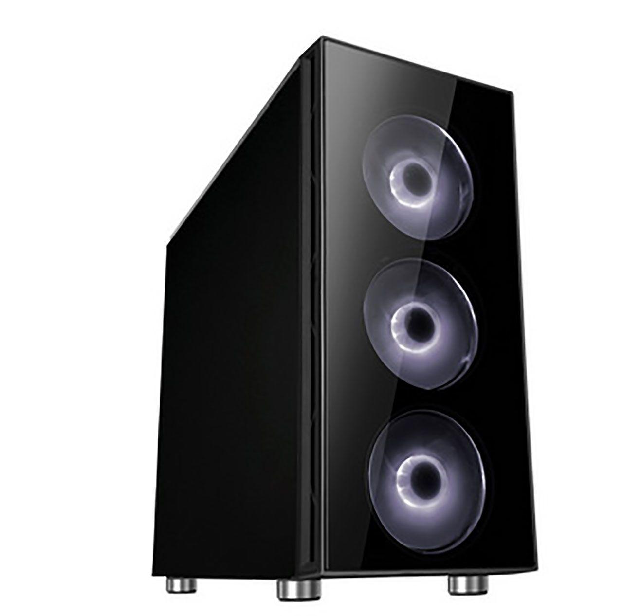 Cooltek Zwei RGB Midi Tower Zwart