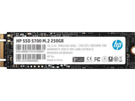 HP S700 M.2 250 GB SATA III TLC