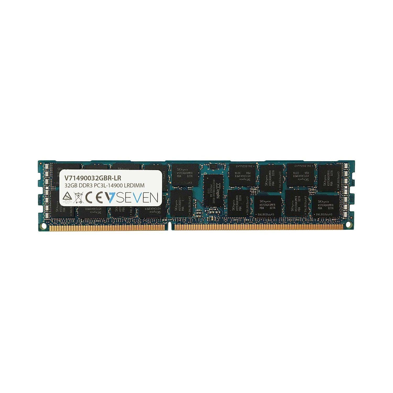 V7 V71490032GBR-LR geheugenmodule 32 GB 1 x 32 GB DDR3 2400 MHz ECC