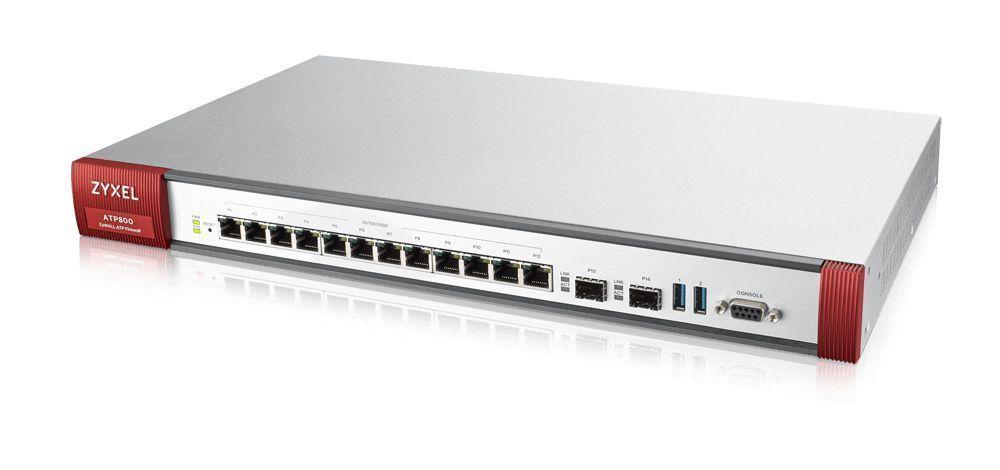 Zyxel ATP800 firewall (hardware) 8000 Mbit/s 1U