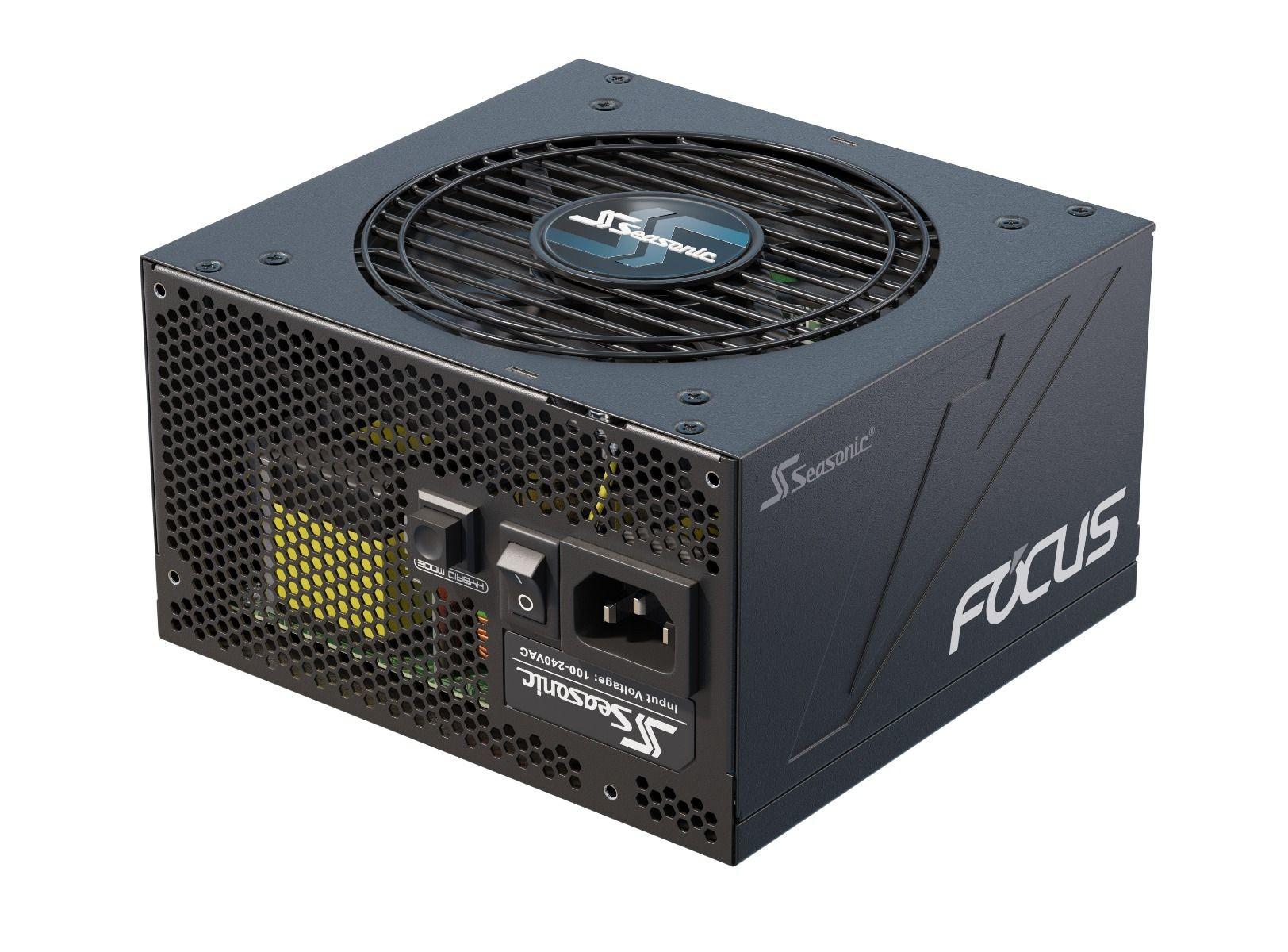 Seasonic FOCUS-GX-550 power supply unit 550 W 20+4 pin ATX ATX Zwart
