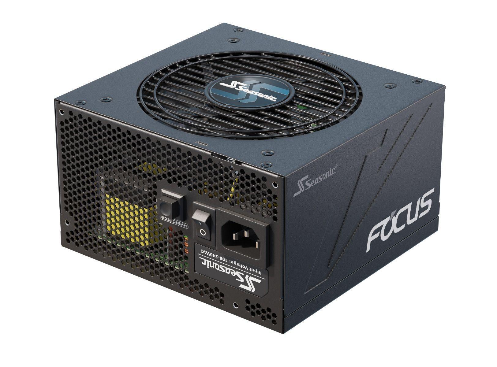 Seasonic FOCUS PX-750 power supply unit 750 W 20+4 pin ATX ATX Zwart