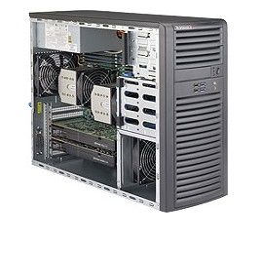 Supermicro SYS-7038A-I PC/workstation barebone Midi-Toren Zwart LGA 2011 (Socket R)