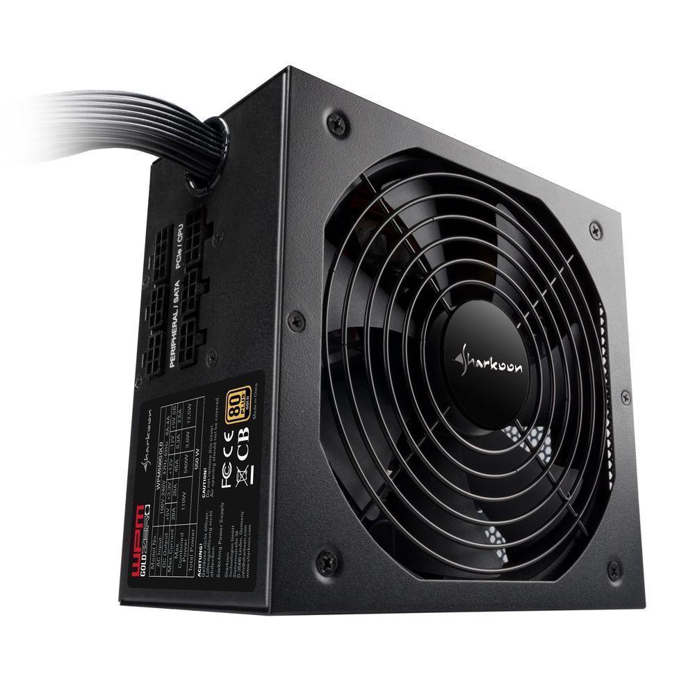 Sharkoon WPM Gold ZERO power supply unit 650 W ATX Zwart