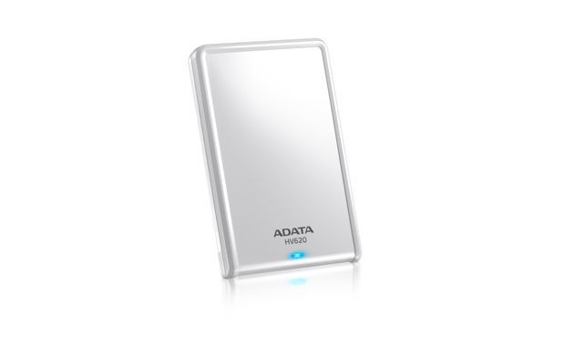ADATA AHV620 500GB externe harde schijf Wit