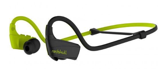 Divacore RedSkull green Headset oorhaak Zwart, Groen