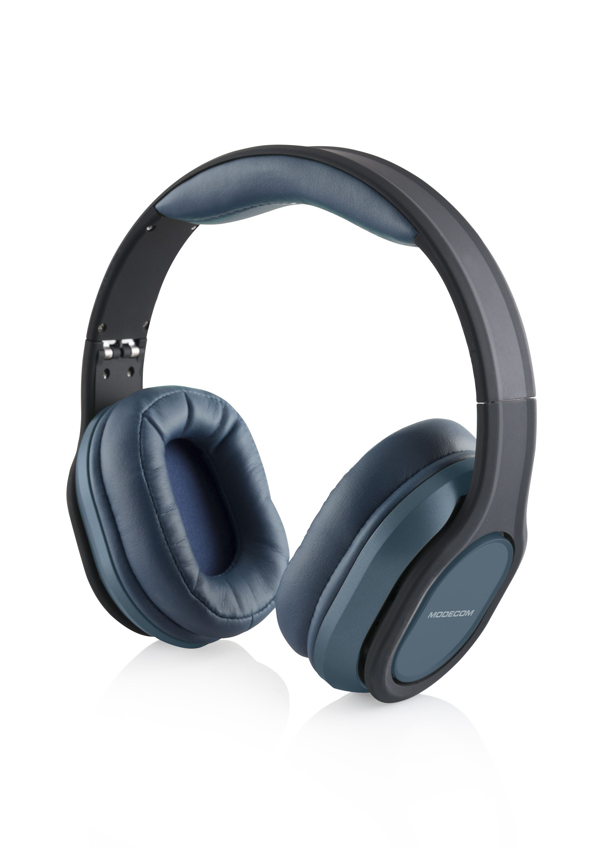Modecom MC-851 COMFORT Headset Hoofdband 3,5mm-connector Blauw