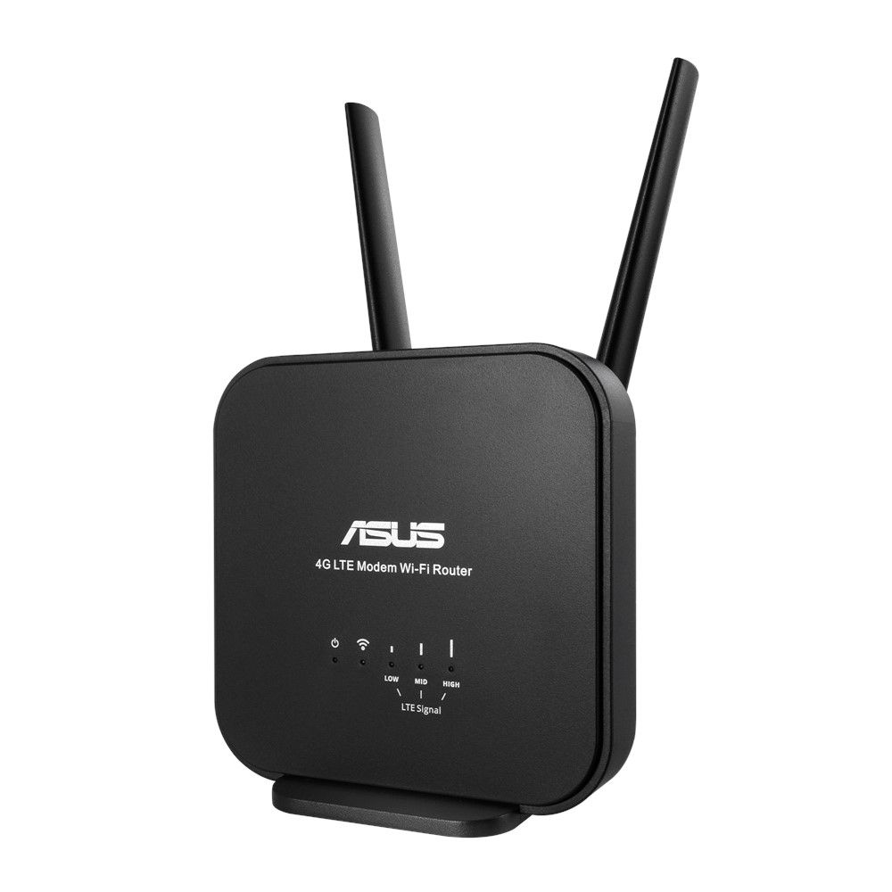 ASUS 4G-N12 B1 draadloze router Single-band (2.4 GHz) Fast Ethernet Zwart