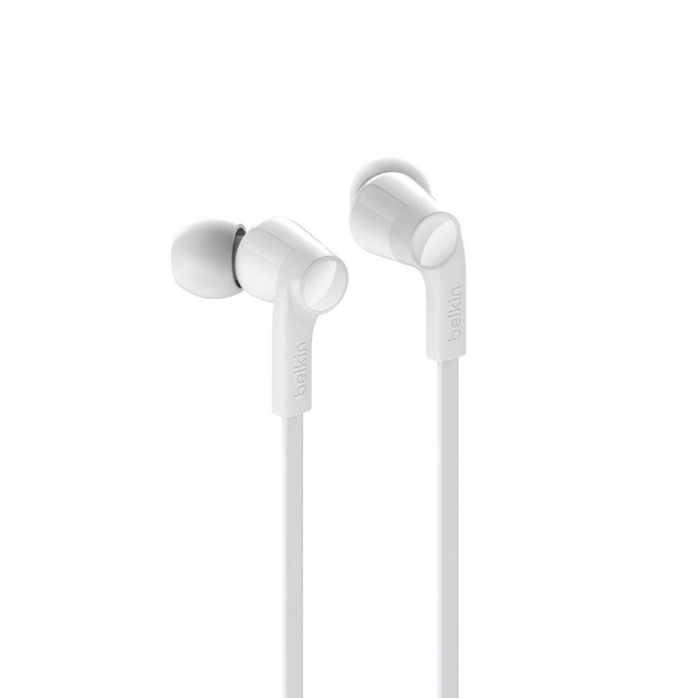 Belkin ROCKSTAR™ in-ear oordopjes met Lightning connector - Wit