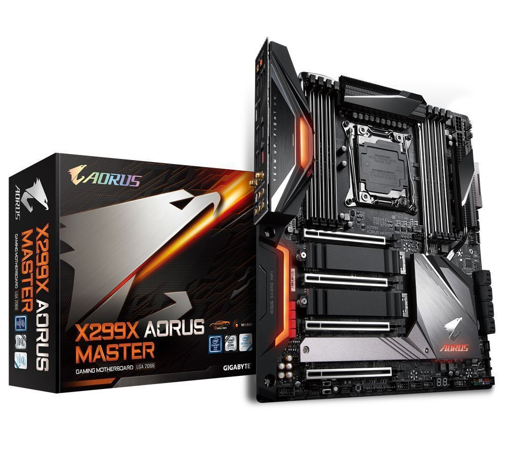 Gigabyte X299X Aorus Master Intel® X299 LGA 2066 (Socket R4) Verlengd ATX
