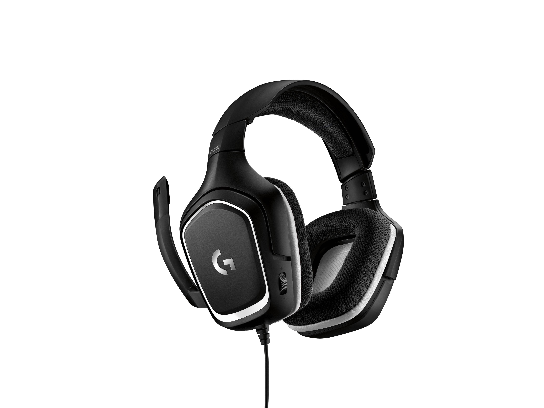 Logitech G G332 SE Headset Hoofdband Zwart, Wit