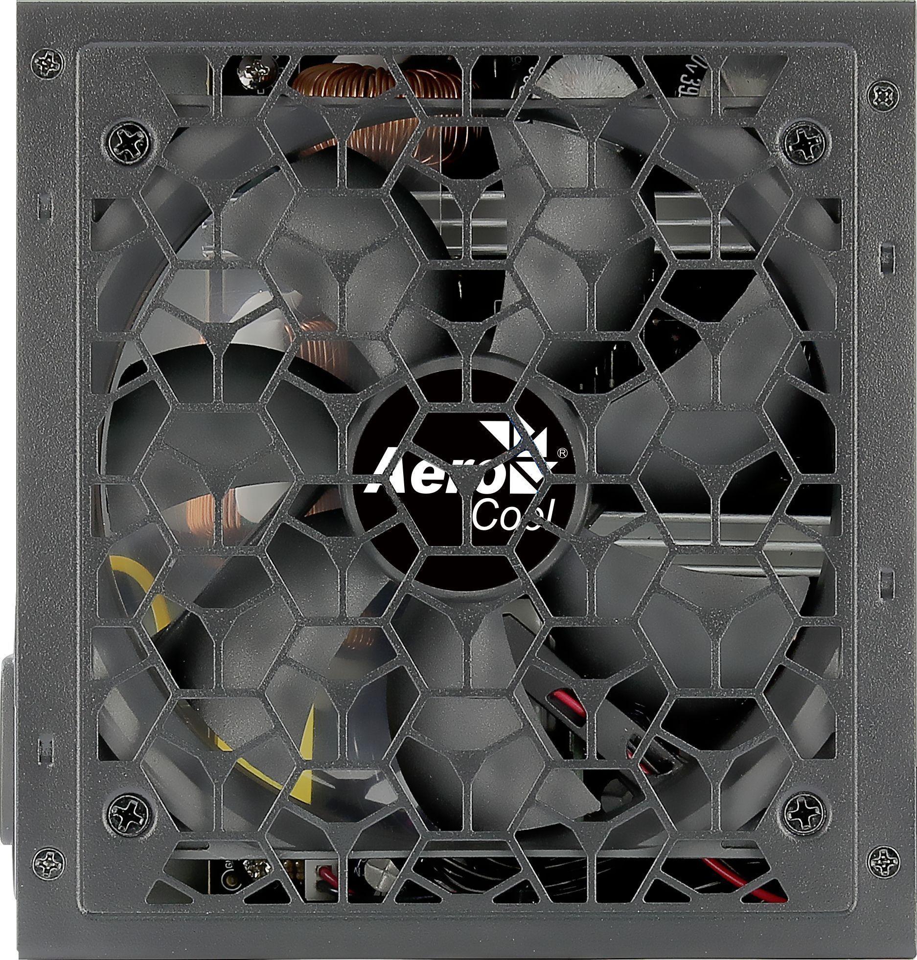 Aerocool Aero power supply unit 650 W Zwart