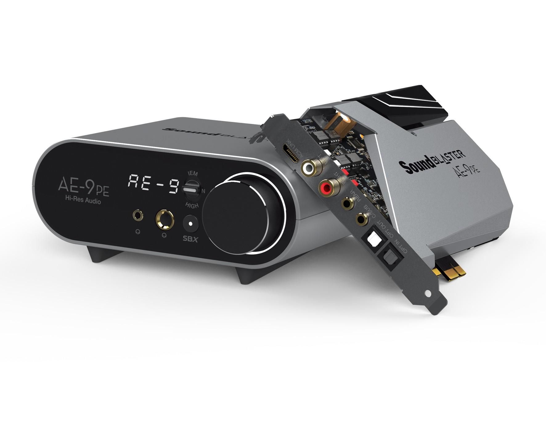 Creative Labs Sound Blaster AE-9PE Intern 7.1 kanalen PCI-E