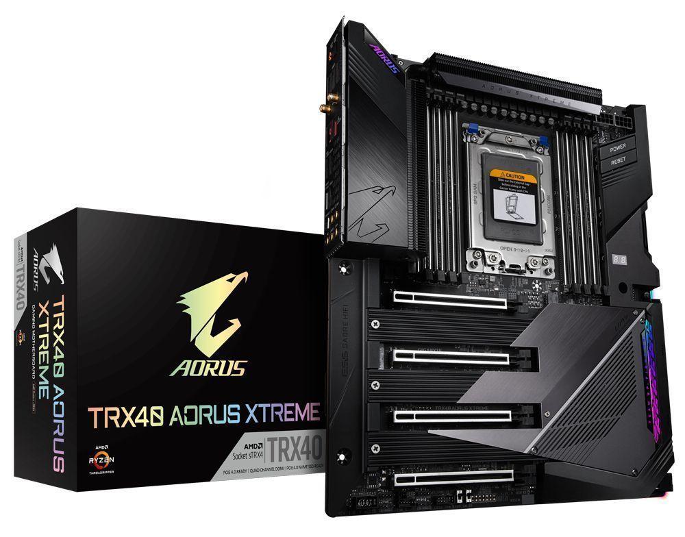 Gigabyte TRX40 AORUS XTREME moederbord AMD TRX40 Socket sTRX4 XL-ATX
