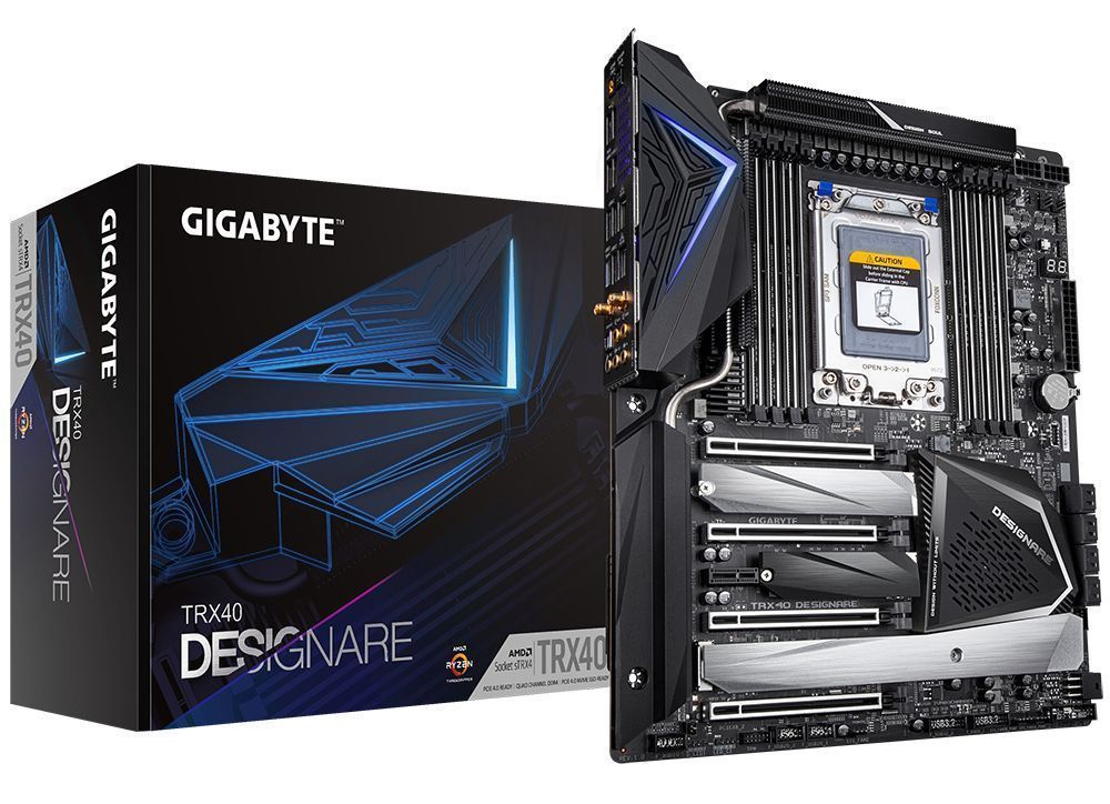 Gigabyte TRX40 Designare AMD TRX40 Socket sTRX4 XL-ATX