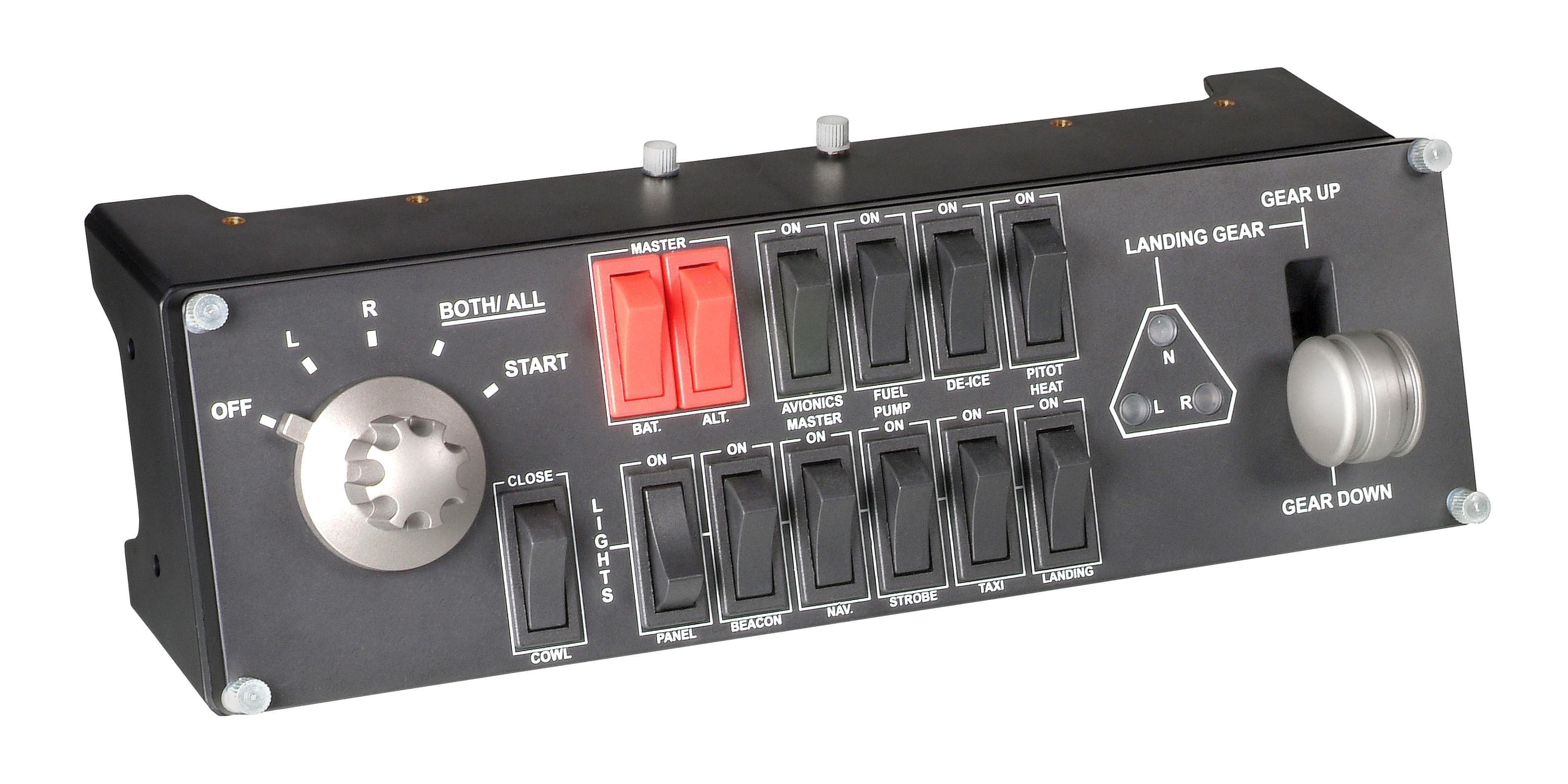 Logitech Pro Flight Switch Panel Vluchtsimulator