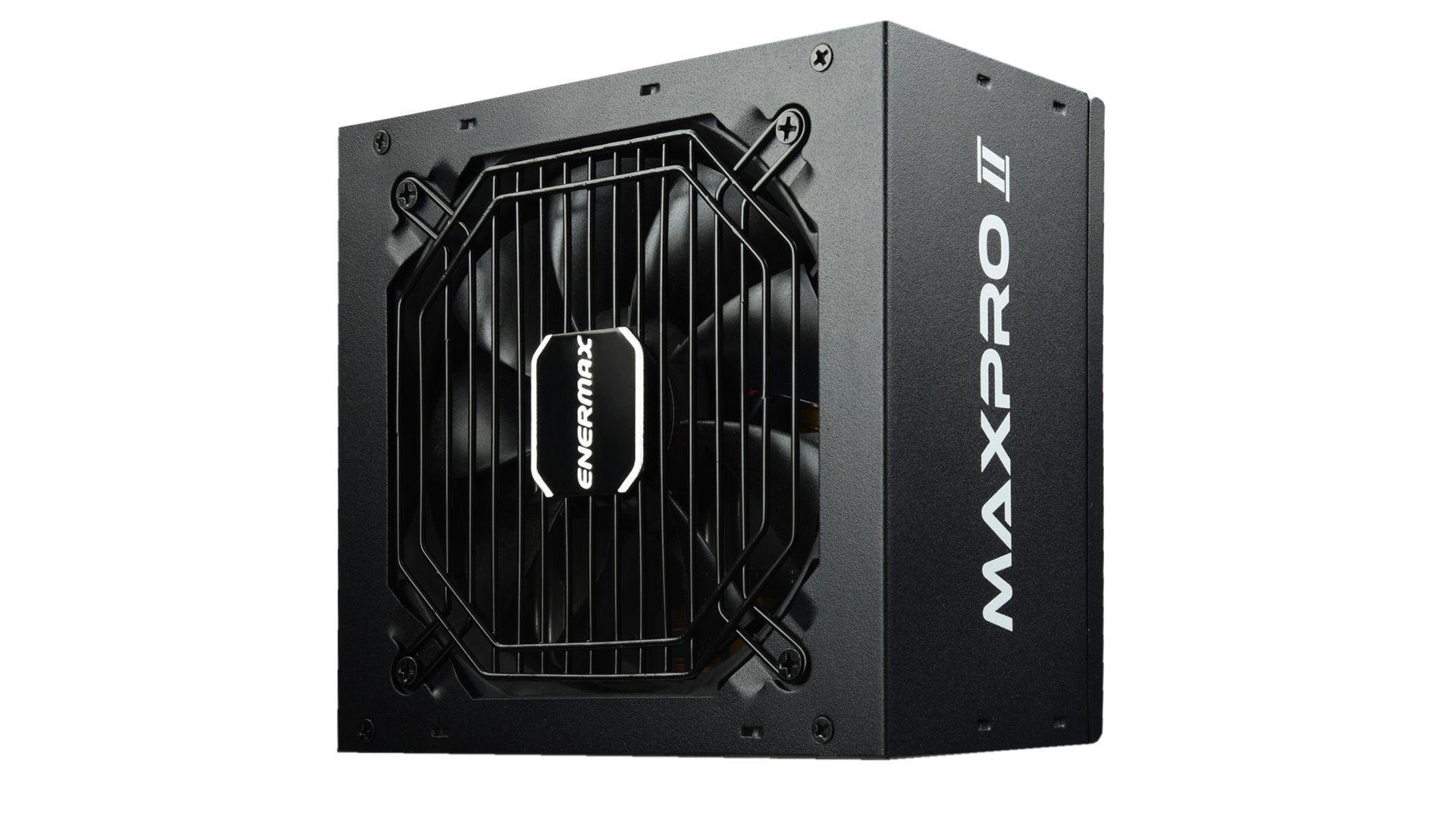 Enermax MAXPRO II power supply unit 400 W 24-pin ATX ATX Zwart