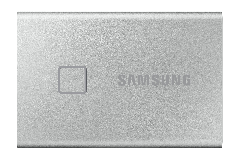 Samsung MU-PC2T0S, T7 Touch, 2000 GB, USB Type-C, 3.2 Gen 2 (3.1 Gen 2), 1050 MB/s, Wachtwoordbeveiliging, Zilver