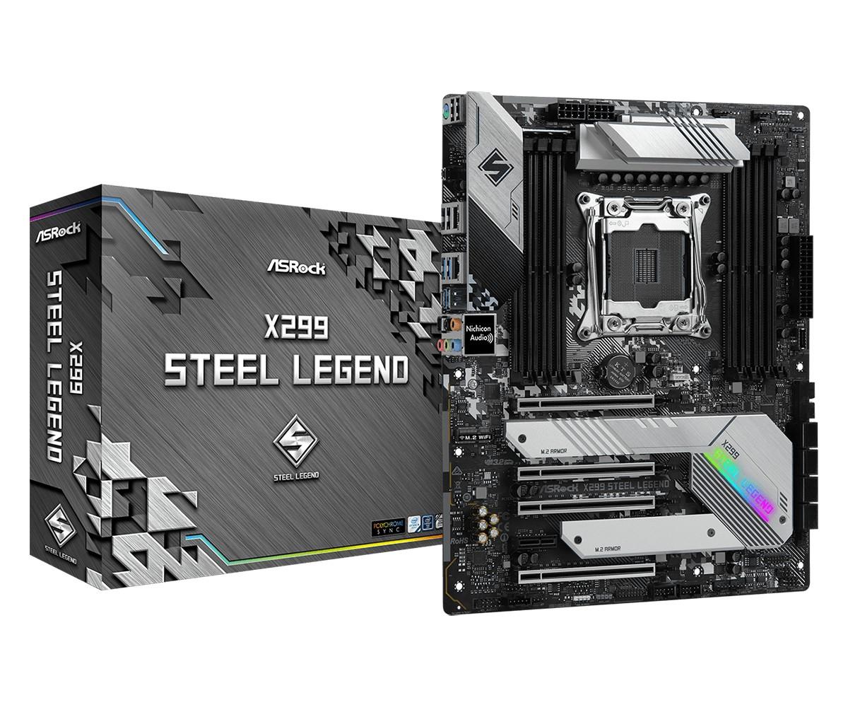 Asrock X299 Steel Legend Intel® X299 LGA 2066 (Socket R4) ATX