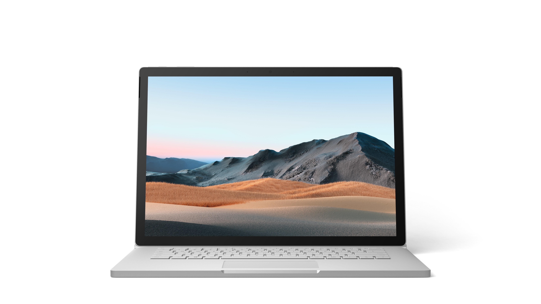 "Microsoft Surface Book 3 Hybride (2-in-1) 38,1 cm (15"") Touchscreen Intel® 10de generatie Core™ i7 32 GB LPDDR4x-SDRAM 1000 GB SSD NVIDIA GeForce GTX 1660 Ti Max-Q Wi-Fi 6 (802.11ax) Windows 10 Pro Platina"