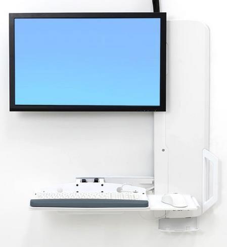 """Ergotron 61-081-062 flat panel bureau steun 61 cm (24"""") Wit"""
