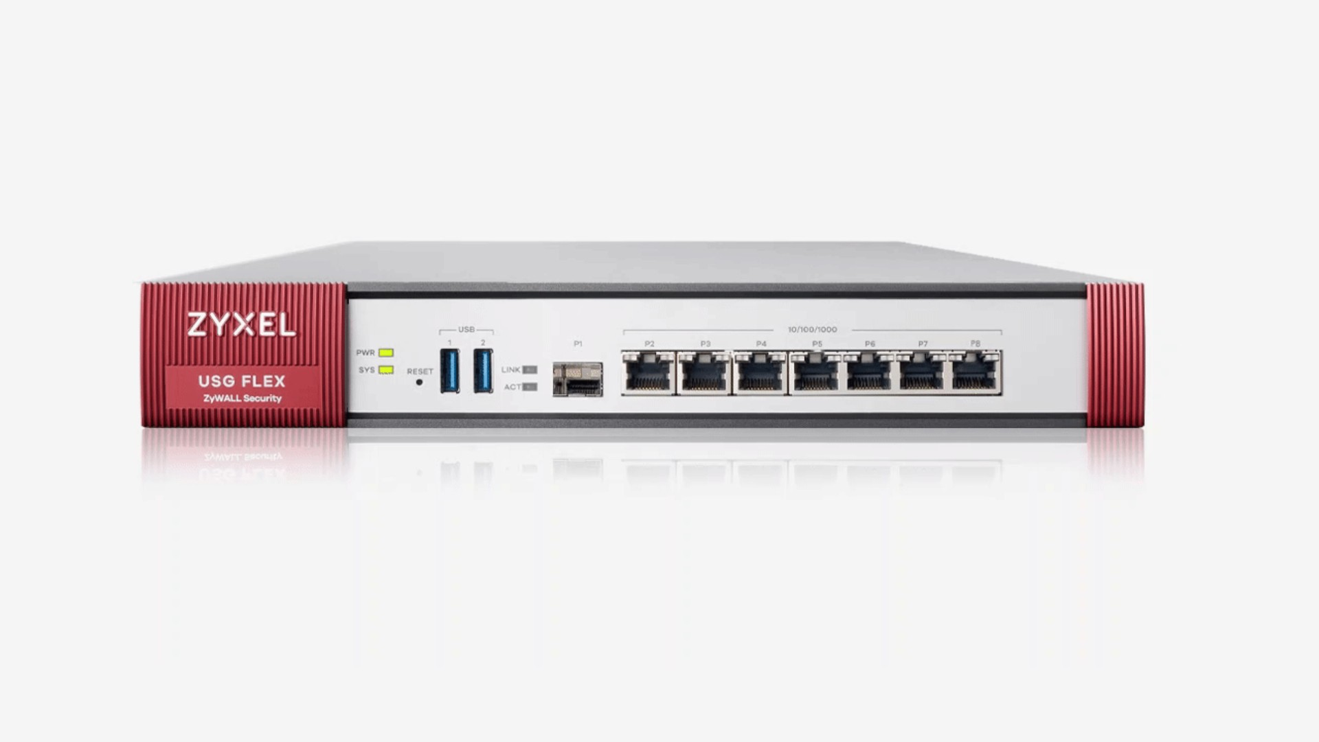 Zyxel USG Flex 200 firewall (hardware) 1800 Mbit/s