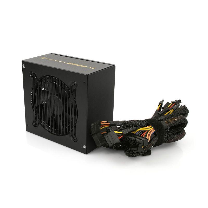 Silentium Supremo L2 power supply unit 550 W 24-pin ATX ATX Zwart
