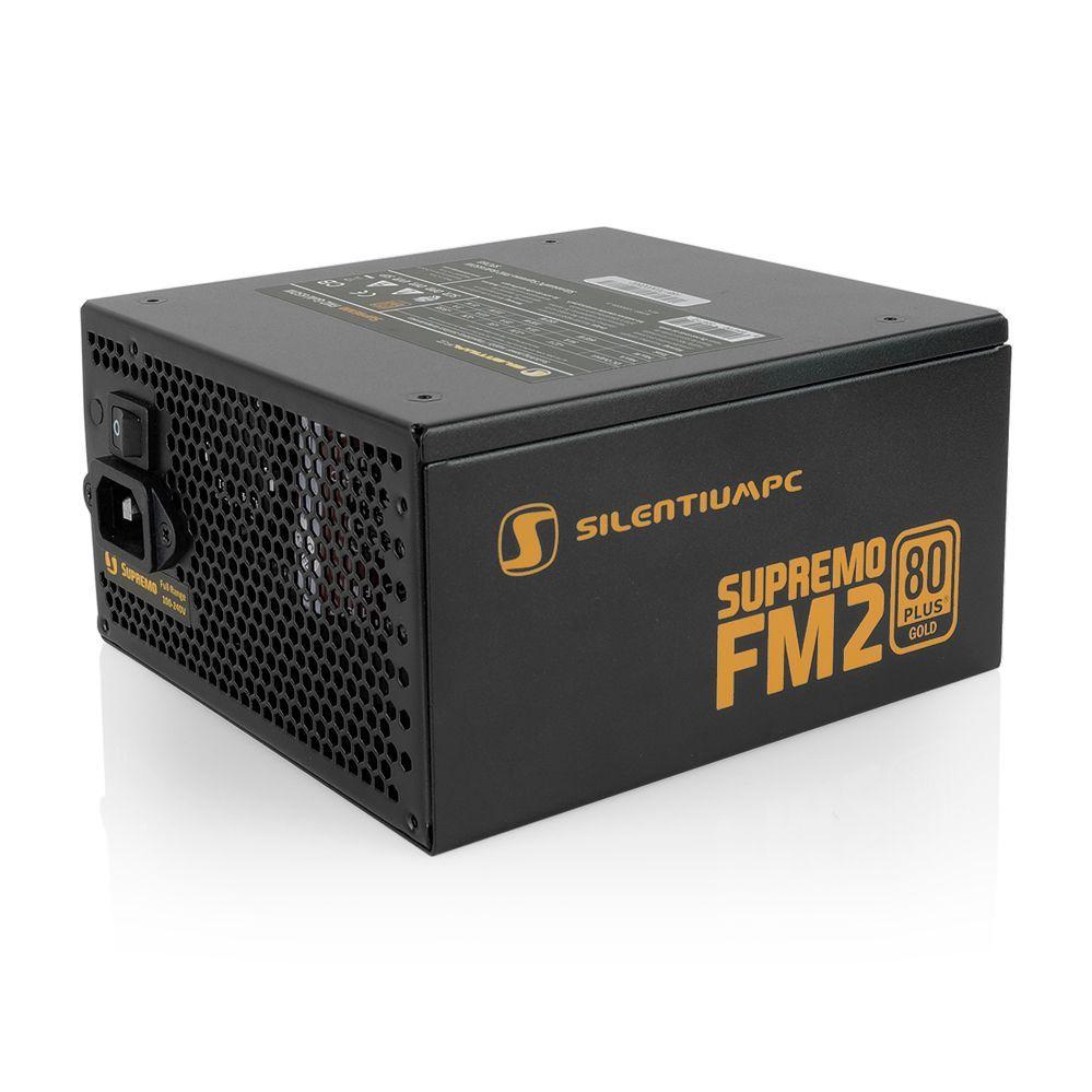 SilentiumPC Supremo FM2 power supply unit 650 W 24-pin ATX ATX Zwart