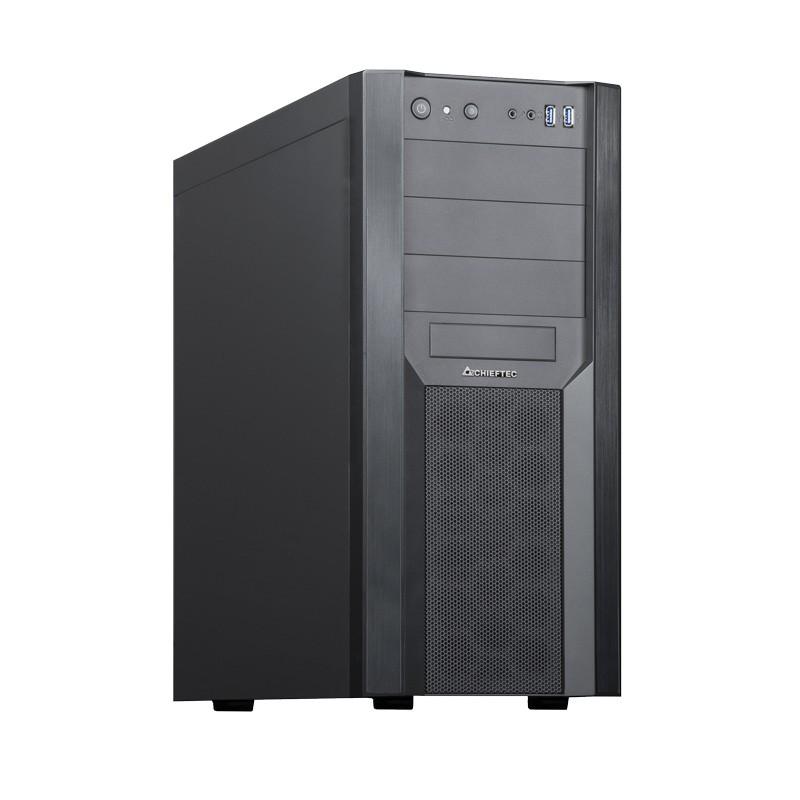 Chieftec CW-01B-OP computerbehuizing Tower Zwart
