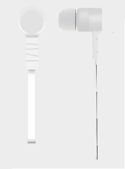 Acer NP.HDS11.00F hoofdtelefoon/headset Hoofdtelefoons In-ear Wit