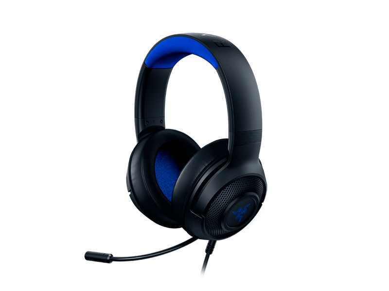 Razer Kraken X Console Headset Hoofdband Zwart, Blauw