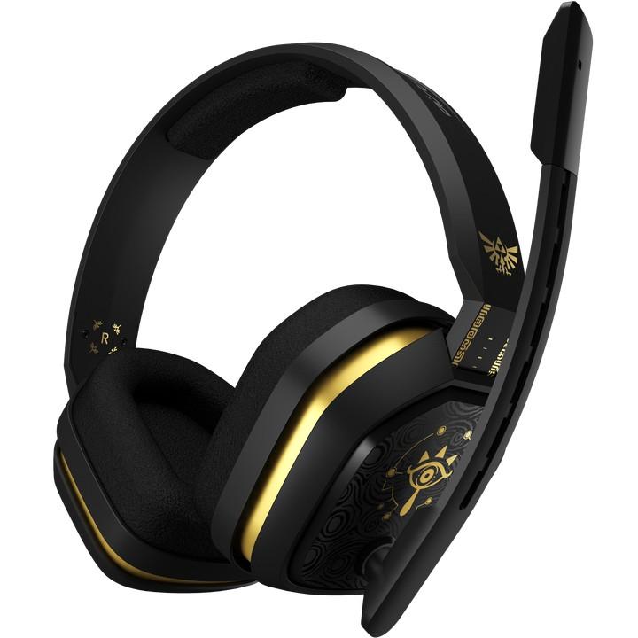 Astro A10 Headset Hoofdband Zwart, Goud