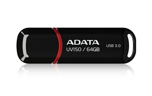 ADATA 64GB DashDrive UV150 USB flash drive USB Type-A 3.2 Gen 1 (3.1 Gen 1) Zwart