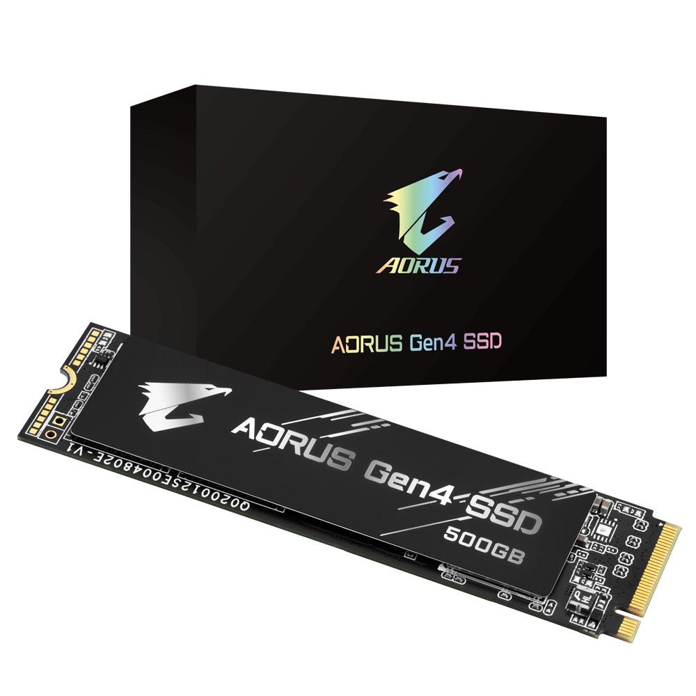 Gigabyte GP-AG4500G internal solid state drive M.2 500 GB PCI Express 4.0 3D TLC NAND NVMe