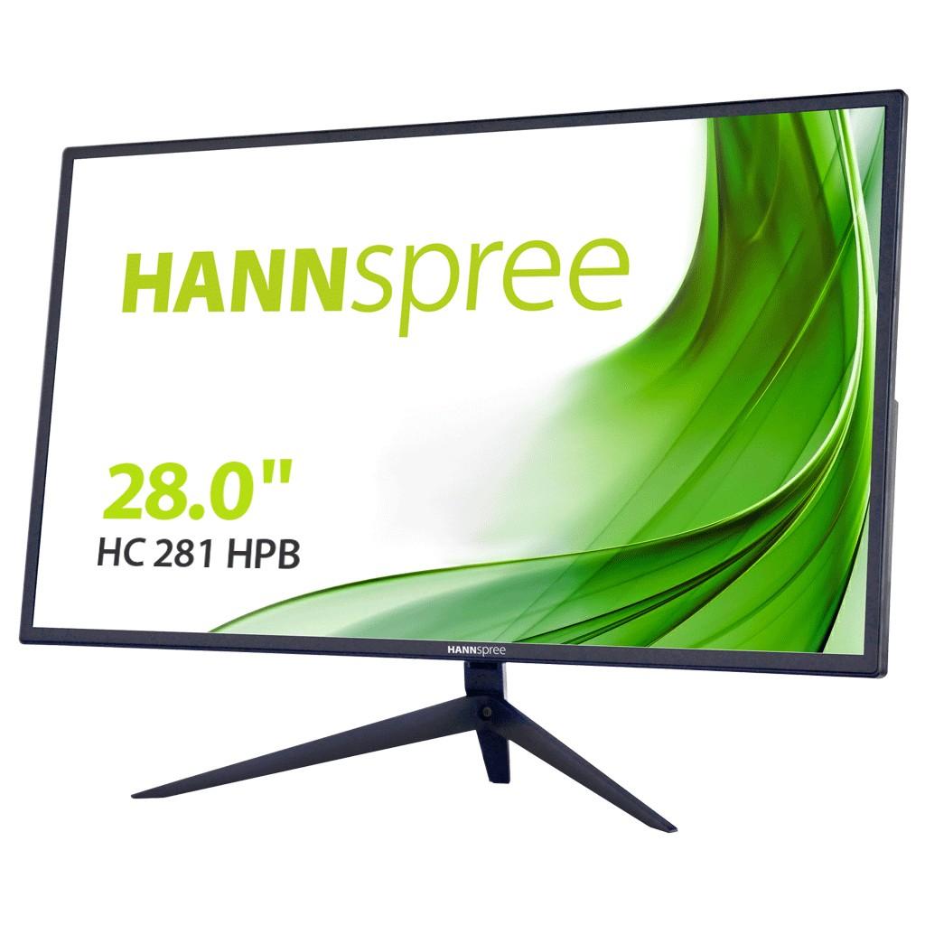 "Hannspree HC281HPB computer monitor 71,1 cm (28"") 1920 x 1080 Pixels Full HD Zwart"