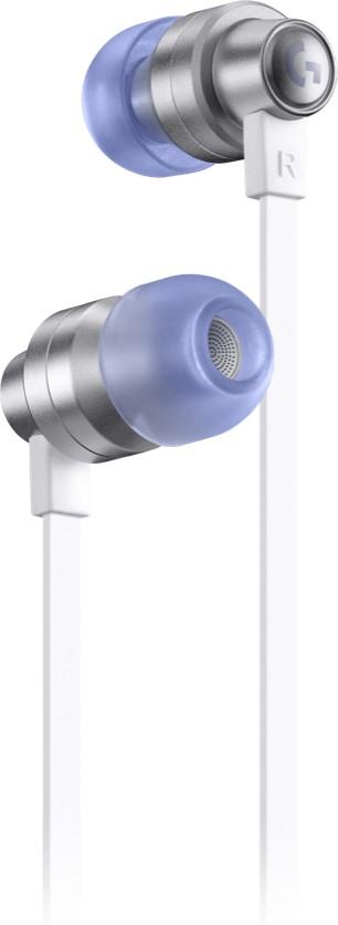Logitech G G333 Gaming Earphones Headset In-ear 3,5mm-connector USB Type-C Grijs, Wit