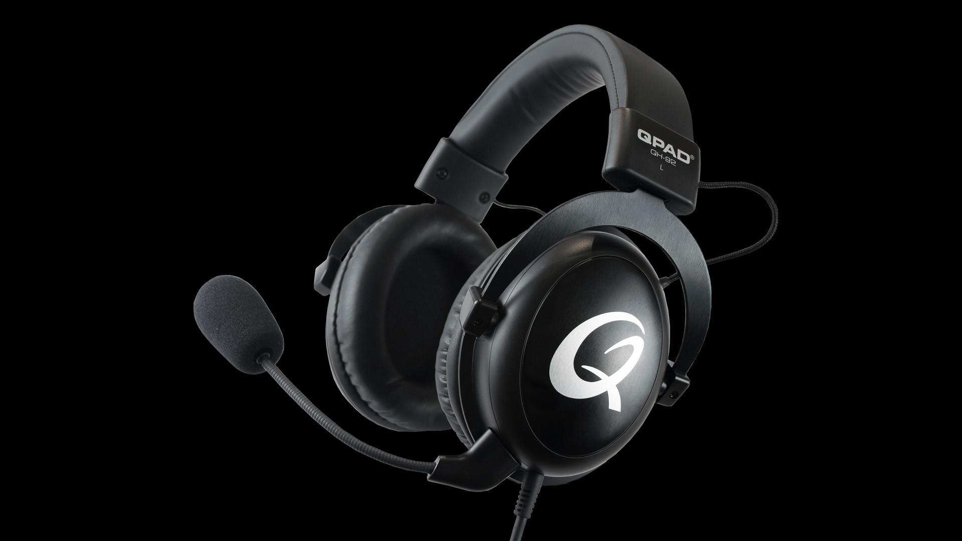 QPAD QH-92 Headset Hoofdband Zwart