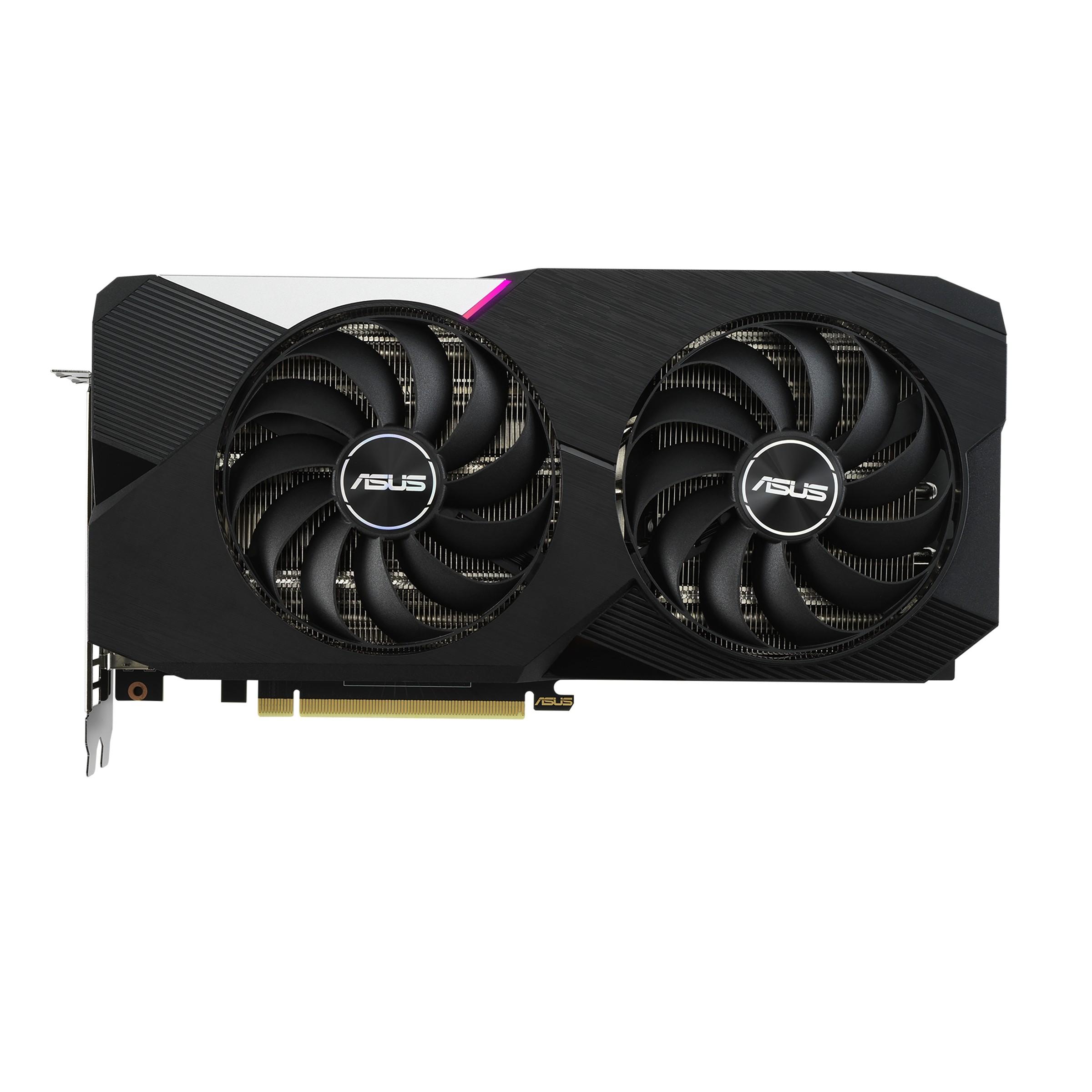 ASUS Dual -RTX3060TI-8G NVIDIA GeForce RTX 3060 Ti 8 GB GDDR6