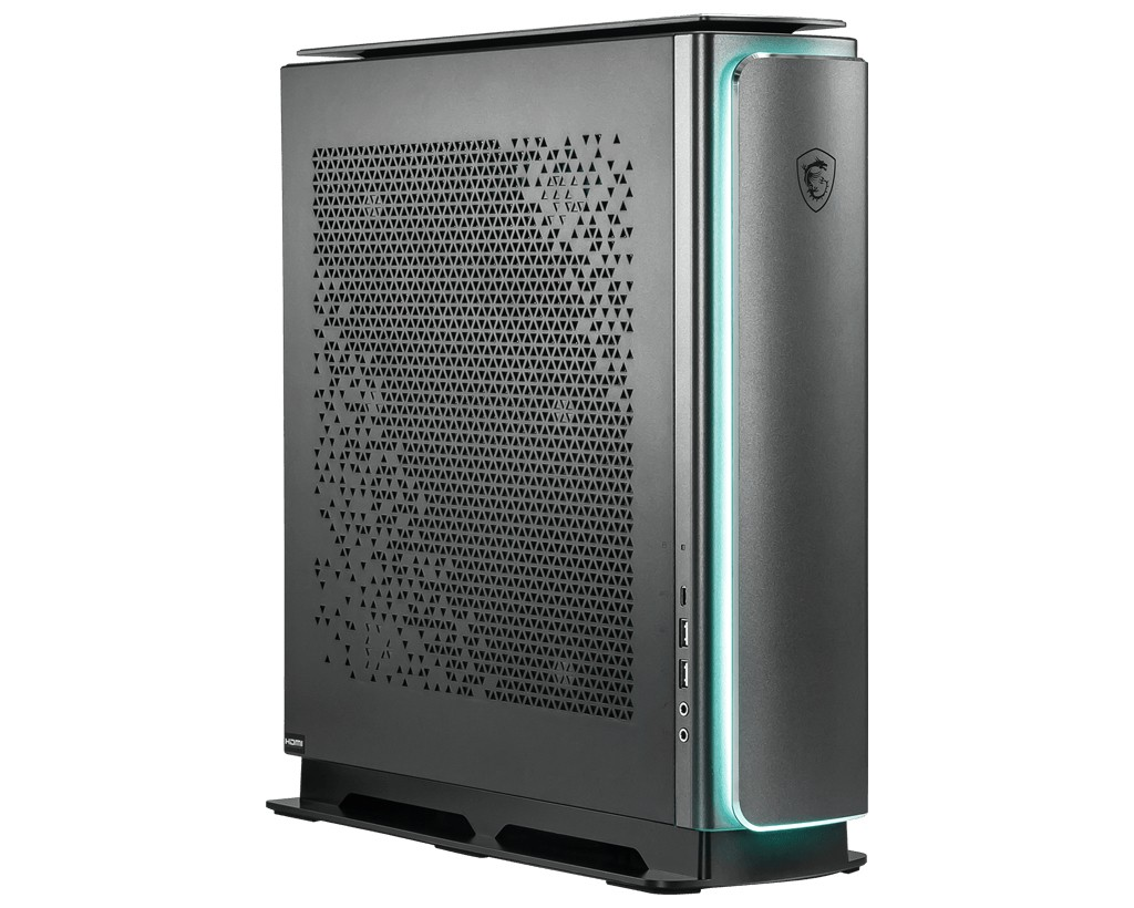 MSI Creator P100X 10TE-413MYS DDR4-SDRAM i9-10900K Desktop Intel® 10de generatie Core™ i9 64 GB 2000 GB SSD Windows 10 Pro PC Zwart
