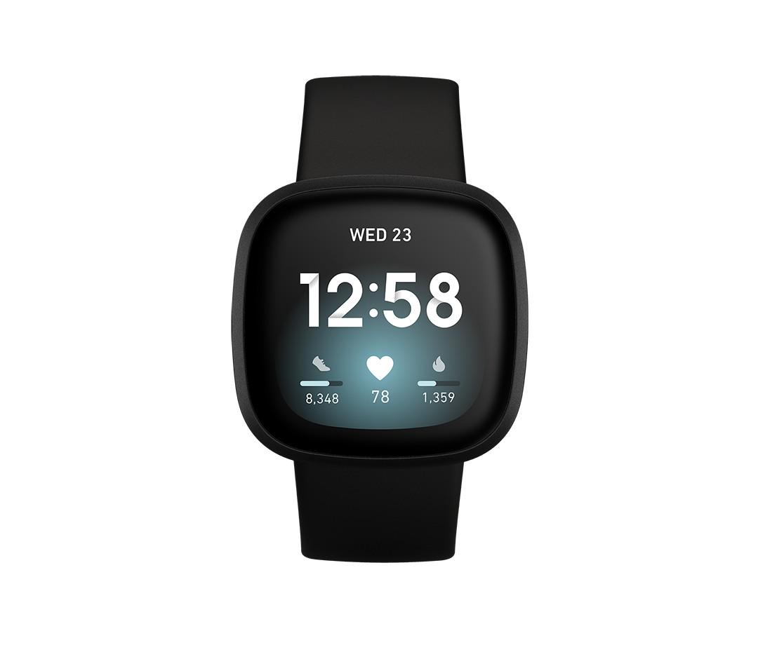 Fitbit Versa 3 40 mm AMOLED Zwart GPS