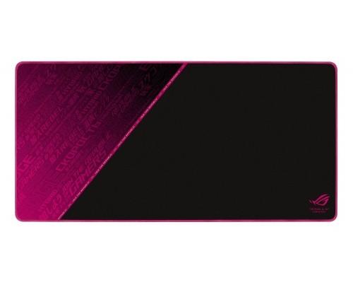 ASUS ROG Sheath Electro Punk Zwart, Roze Game-muismat