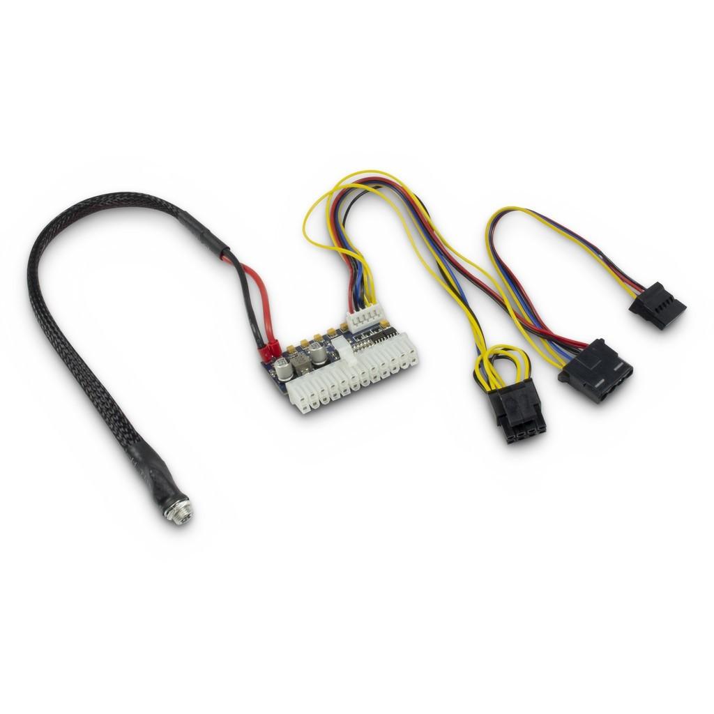Inter-Tech 88882188 power supply unit 160 W 20-pin ATX Zwart