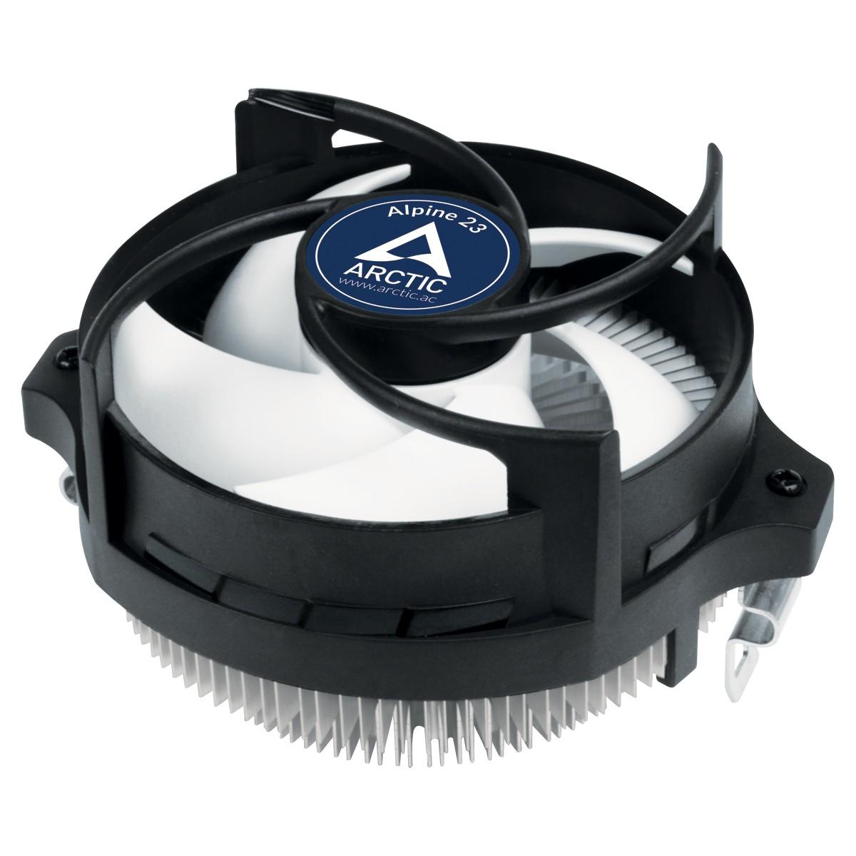 ARCTIC Alpine 23 - Compact AMD CPU-Cooler Processor Koelset 9 cm Aluminium, Zwart 1 stuk(s)