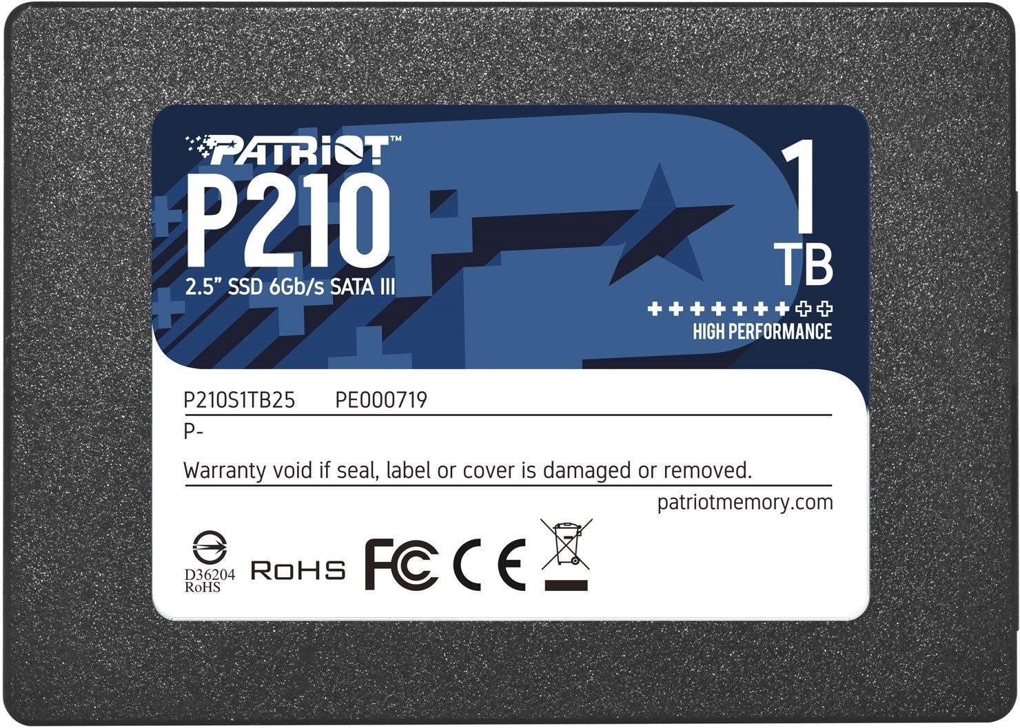 "Patriot Memory P210 2.5"" 1000 GB SATA III"
