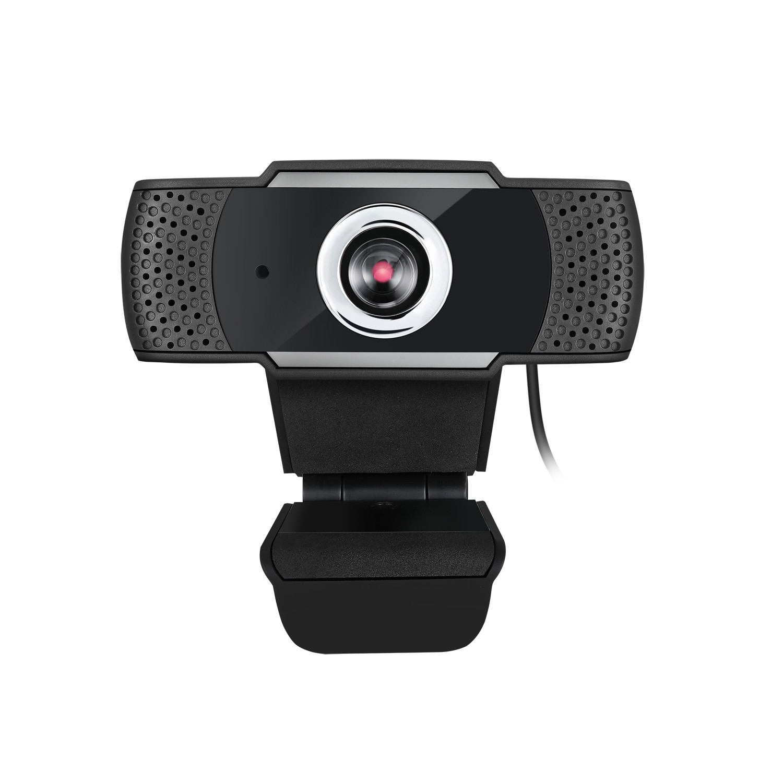Adesso CyberTrack H4 webcam 2,1 MP 1920 x 1080 Pixels USB 2.0 Zwart, Zilver