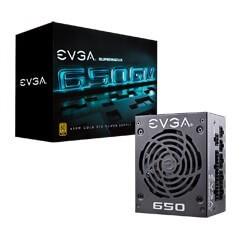 EVGA 123-GM-0650-Y2 power supply unit 650 W 24-pin ATX SFX Antraciet